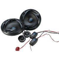 autotekr ats65c ats series 6 5 300 watt component speaker system with crossovers