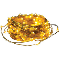 axistm 25015 metallic gold led micro dot string lights 41ft