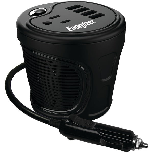 Energizer(r) Energizer(R) EN120 12 Volt Cup Holder Power Inverter (120 Watts)