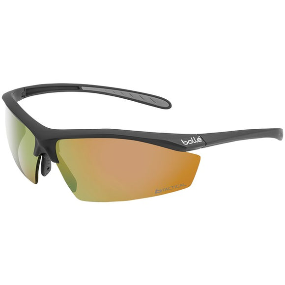 Bolle(R) 40144 Sentinel Ballistic-Protection Sunglasses (Red Flash Coating)