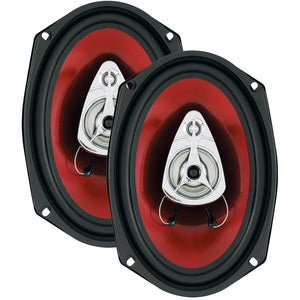 "Boss Audio Systems CH6930 Chaos Exxtreme Series Full-Range Speakers (6"" x 9"", 400 Watts, 3 Way)"