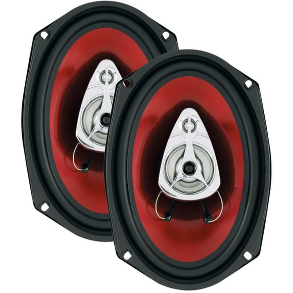 Boss Audio Systems CH6930 Chaos Exxtreme Series Full-Range Speakers (6