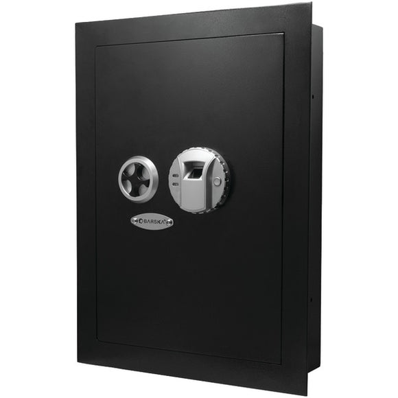 Barska AX12038 .52 Cubic-ft Biometric Wall Safe