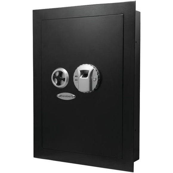 Barska Barska AX12038 .52 Cubic ft Biometric Wall Safe