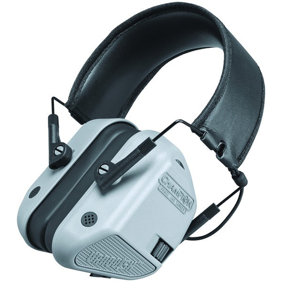 Vanquish Electronic Hearing-Protection Muffs (Gray)
