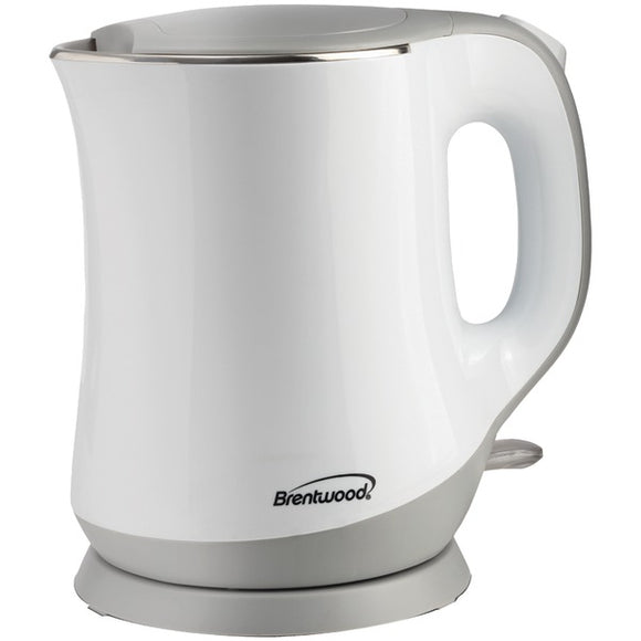 Brentwood Appliances KT-2013W 1.3L Cool-Touch Electric Kettle