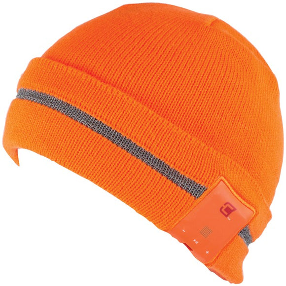 Caseco Caseco CC BTQ GLARE OR Blu Toque Bluetooth(R) Beanie (Glare Neon Orange)
