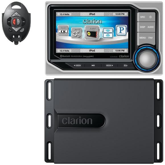 Clarion Clarion CMS5 Marine Digital Media Receiver with 4.3