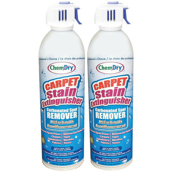 Chem dry(r) Chem Dry(R) C196 2 Carpet Stain Extinguisher, Bilingual Packaging (2 pk)