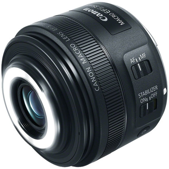 Canon 2220C002 EF-S 35mm f-2.8 Macro IS STM Lens