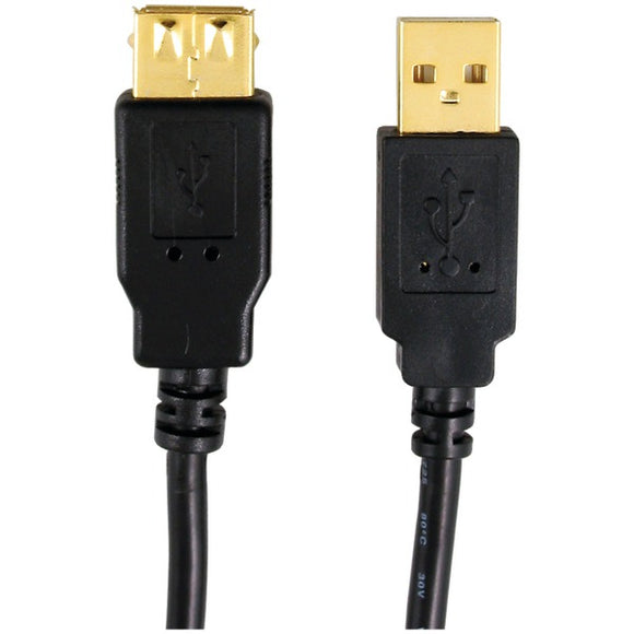 axistm 12 0082 a male to a female usb 2 0 cable 6ft