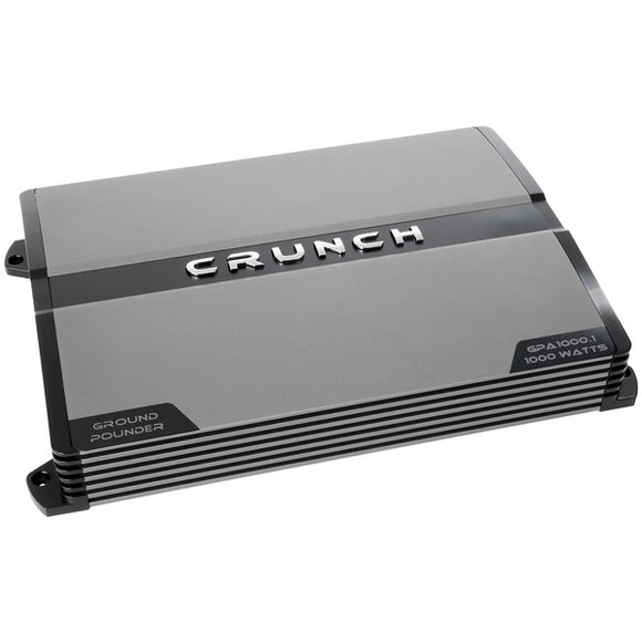 Crunch Crunch GPA1000.1R Refurbished Ground Pounder 1,000 Watt Monoblock Class AB Amp