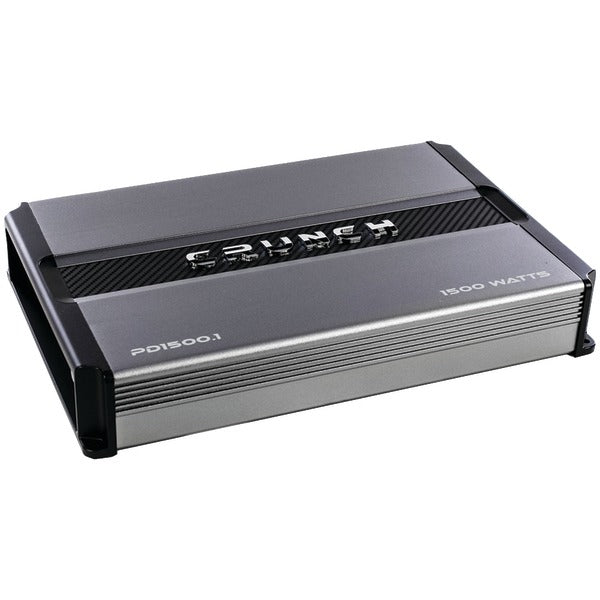Crunch(r) Crunch(R) PD 1500.1 POWER DRIVE Monoblock Class AB Amp (1,500 Watts max)
