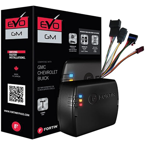 Fortin EVO-GMT5 EVO-GMT5 Preloaded Module & T-Harness Combo for Cadillac, Chevrolet & GMC Full-Size Vehicles