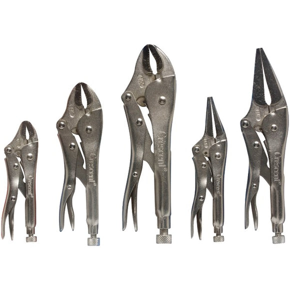 Crescent(r) Crescent(R) CLP5SET 5 Piece Locking Pliers Set