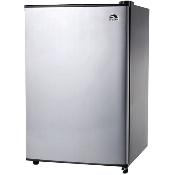 Igloo FR321I-P-C 3.2 Cubic-ft Refrigerator with Platinum Finish
