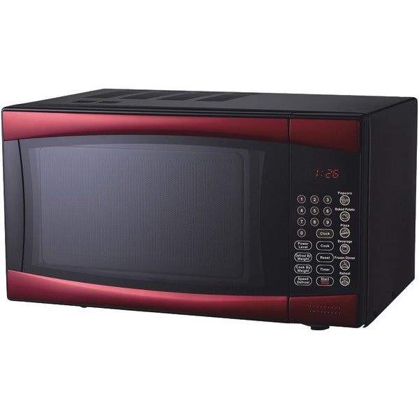 RCA(R) RMW964-RED .9 Cubic-ft Microwave (Red)