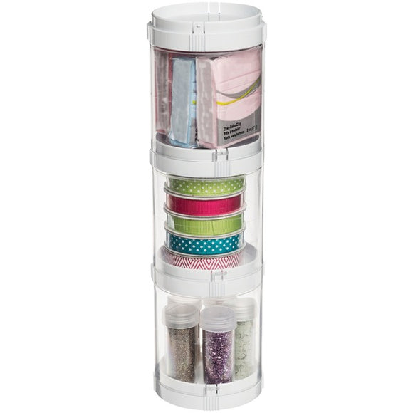 Deflecto Deflecto 20101CR Interlocking Stacking Organizer