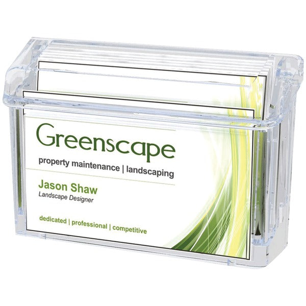 Deflecto(r) Deflecto(R) 70901 Grab A Card(R) Outdoor Business Card Holder