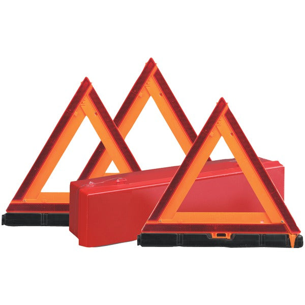 Sate-Lite(R) 73-0711-00 Early-Warning Triangle Triple Kit