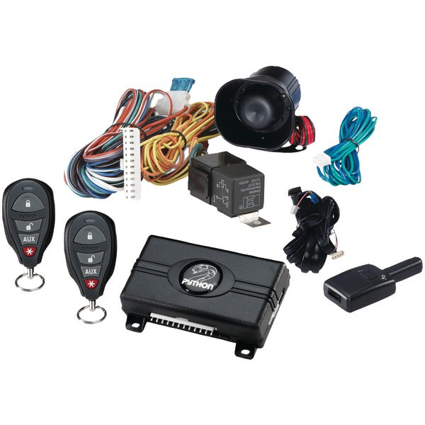 Python Python 3105P 3105P 1 Way Security Keyless Entry System with .25 Mile Range & 4 Button Remotes