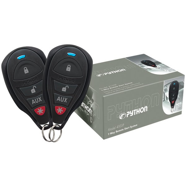 Python(r) Python(R) 4105P 4105P 1 Way Remote Start System with .25 Mile Range & 2 Remotes