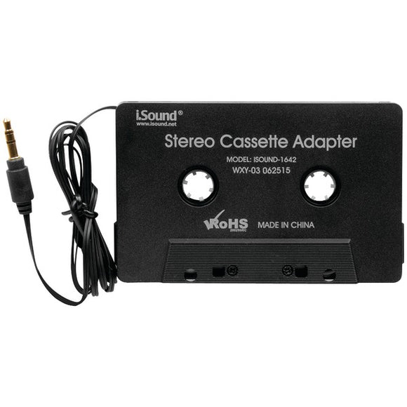i.Sound(R) ISOUND-1642 Stereo Cassette Adapter