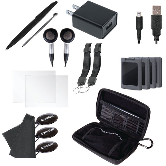 Dreamgear dreamGEAR DG3DSXL 2261 Nintendo 3DS XL 20 in 1 Essentials Kit