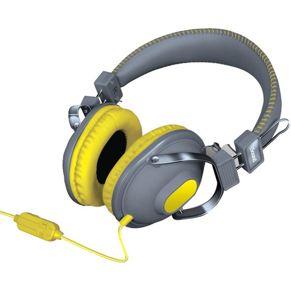 Dreamgear dreamGEAR DGHM 5523 HM 260 Headphones with Microphone (Yellow)