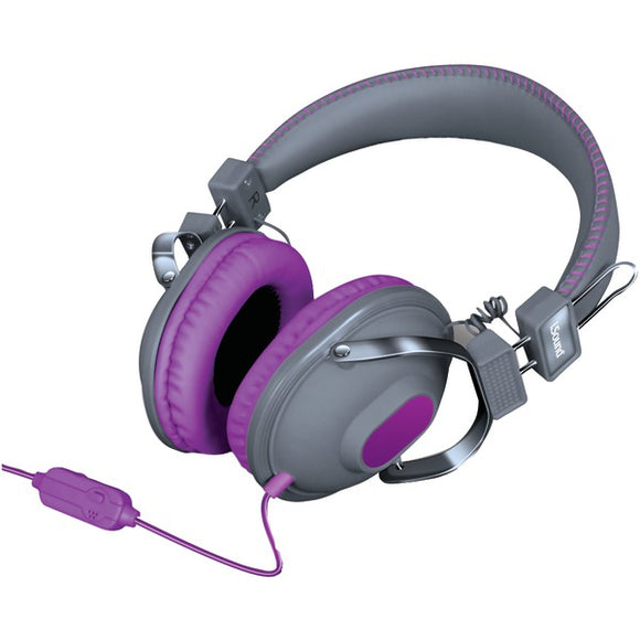 Dreamgear dreamGEAR DGHM 5524 HM 260 Headphones with Microphone (Purple)