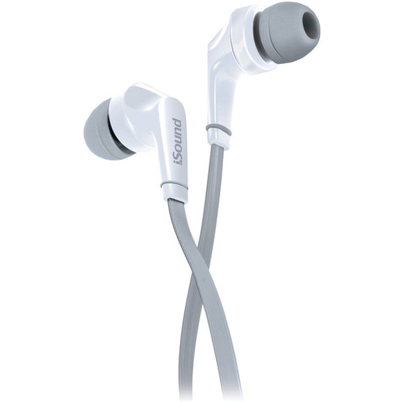 Dreamgear(r) dreamGEAR(R) DGHP 5726 EM 60 Earbuds with Microphone (White)