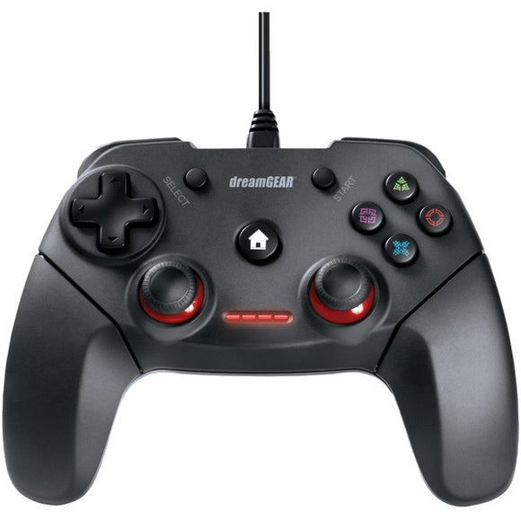 Dreamgear dreamGEAR DGPS3 3880 Shadow Wired Controller for PS3 & PC