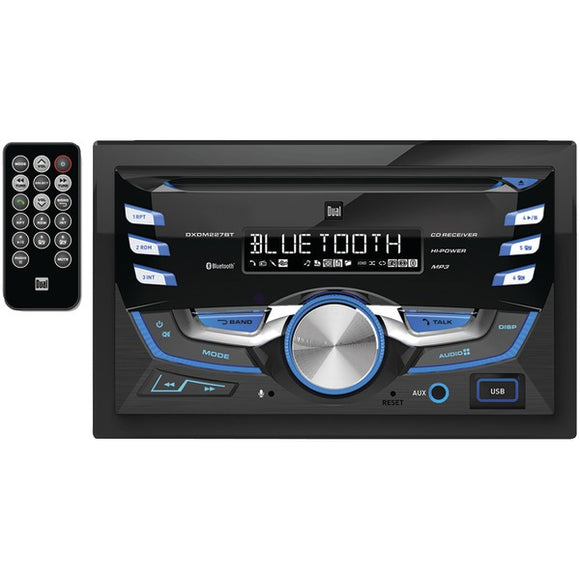 Dual(r) Dual(R) DXDM227BT Double DIN In Dash CD AM FM Receiver with Bluetooth(R)