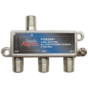 Eagle Aspen Eagle Aspen 500303 1,000MHz Splitter (3 Way)