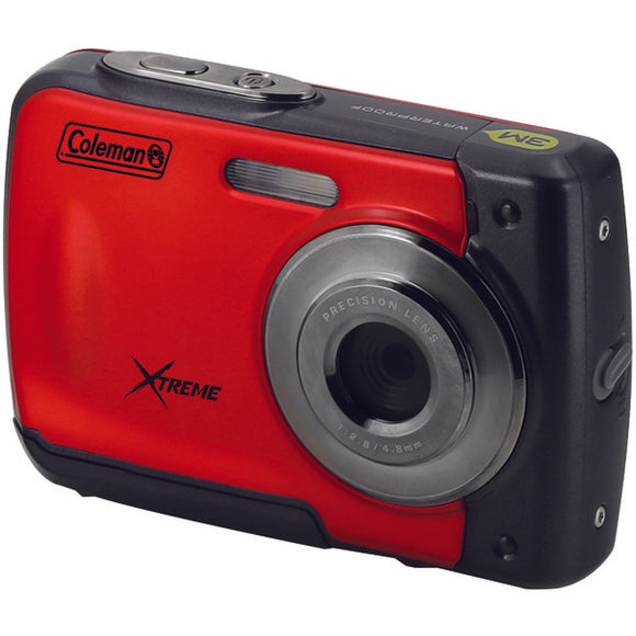 Coleman(r) Coleman(R) C20WP R 18.0 Megapixel C20WP Xtreme HD Waterproof Digital Camera (Red)