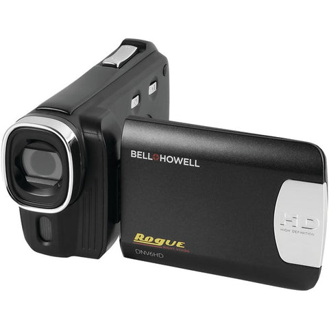 Bell+Howell(R) DNV6HD-BK 20.0-Megapixel Rogue DNV6HD 1080p IR Night-Vision Camcorder
