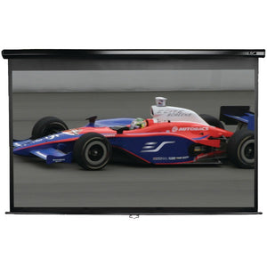 "Elite Screens Elite Screens M150UWH2 Manual Series Pull down Screen (150""; 73.5"" x 130.7""; 16:9 HDTV Format)"
