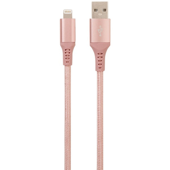 Helix ETHLT10RG Charge & Sync Lightning Cable, 10ft (Rose Gold)