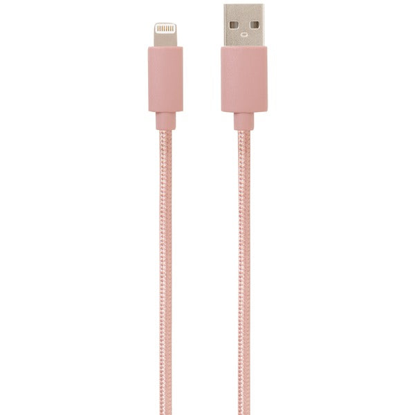 Helix ETHLTRG Charge & Sync Lightning(R) Cable, 5ft (Rose Gold)
