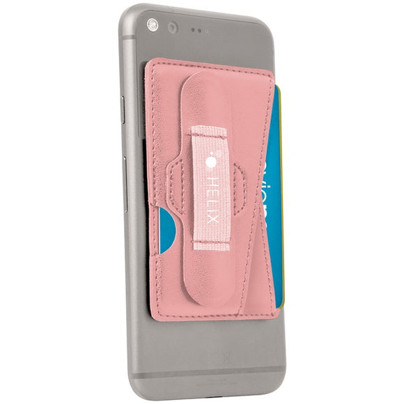 Helix ETHWALPK 3-in-1 Phone Wallet (Pink)