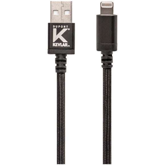 Kevlar(R) KV566 USB Cable with Lightning(R) Connector (3ft)