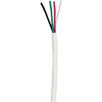 Ethereal(R) 16-4C-BW 16-Gauge 4-Conductor 65-Strand Oxygen-Free Speaker Wire, 500ft