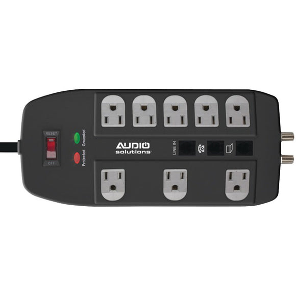 audio solutions as p 500 8 outlet power solution 500