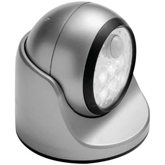 Light It! 20031-101 100-Lumen 6-LED Wireless Porch Light (Silver)
