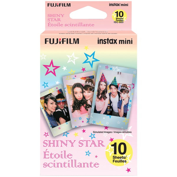 Fujifilm(R) 16404193 Instax(R) Mini Film Pack (Shiny Star)