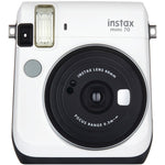 Fujifilm(R) 16496043 Instax(R) Mini 70 Instant Camera (White)