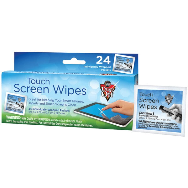 Dust off(r) Dust Off(R) DCW Touchscreen Wipes (24 ct)