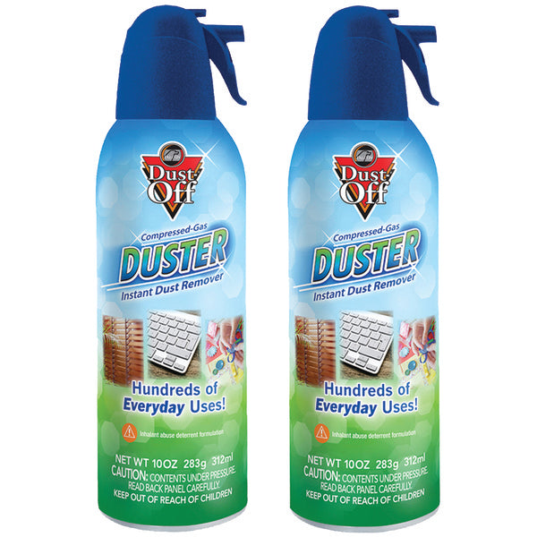 Dust off(r) Dust Off(R) RET10522 Compressed Gas Duster, 2 pk