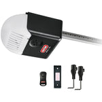 Genie(TM) 1035-V 1-2 HP DC Motor Chain-Drive Garage Door Opener with Remote, Wall Button & Safe-T Beams