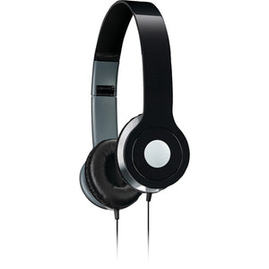 iLive iAH54B On-Ear Headphones (Black)